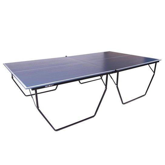 c3c4c5a39 Mesa de Ping Pong   Tênis de Mesa Procopio Oficial Dobrável c  Rodas - Azul