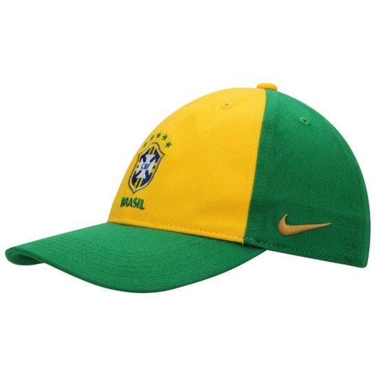 Boné Nike Seleção Brasil Core Infantil - Compre Agora  5262c7666b6