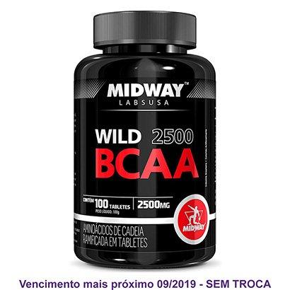 BCAA Wild 2500 Midway 100 Tabs