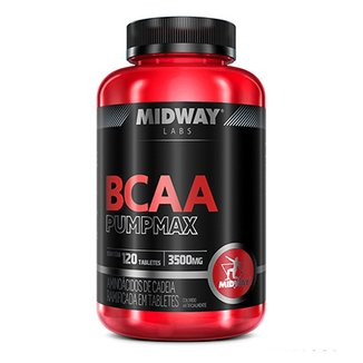 BCAA Pumpmax 120 Tabletes Midway