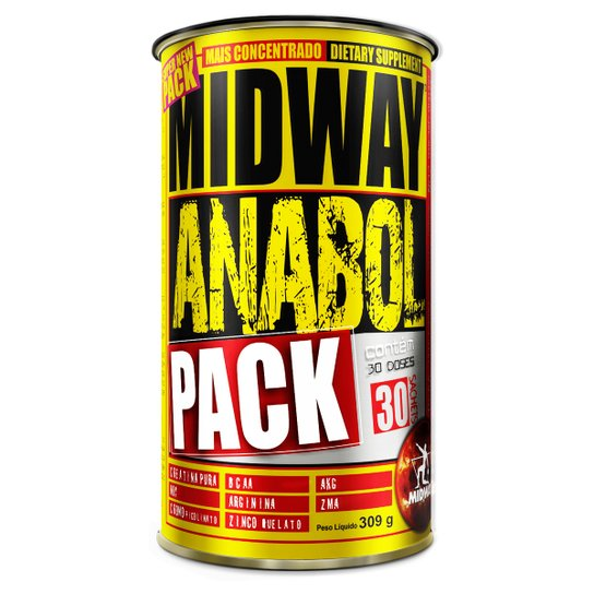44d716bb0 Anabol Pack - 30 Packs - MidWay - Compre Agora