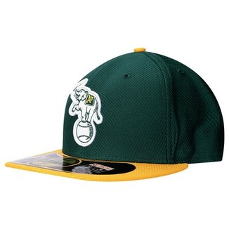 f0ea9e32f0d4e Boné New Era 5950 MLB BP Diamond Oakland Athletics Team Color
