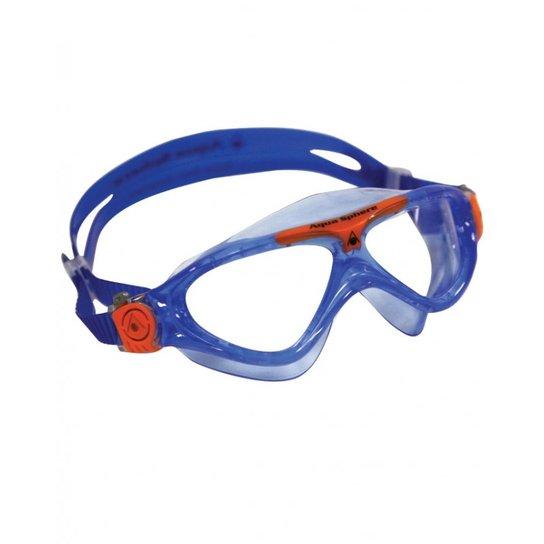 278945a77 Máscara Natação Vista Júnior - Azul e Laranja | Netshoes