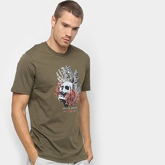 Camiseta Lost Deep Sea Skull Masculina