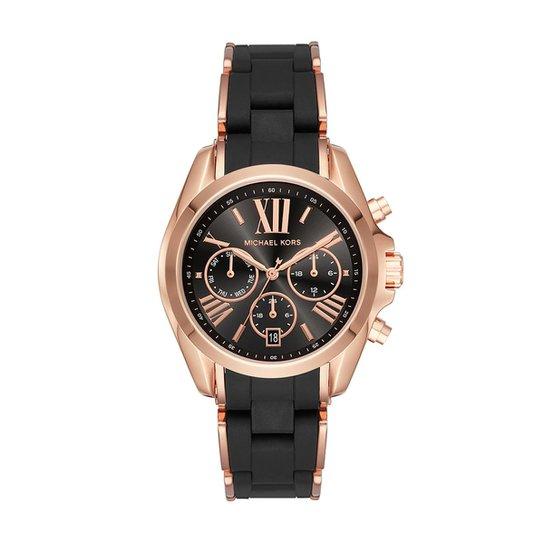 c1d7da1f142dc Relógio Michael Kors Feminino Bradshaw Bicolor - MK6580 1PN MK6580 1PN -  Única