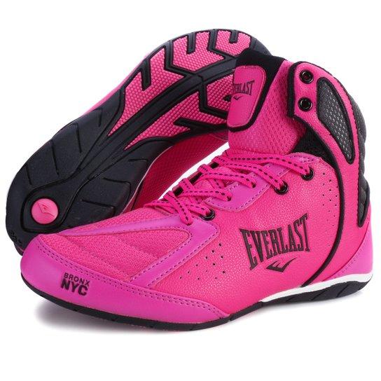 46ad23443 Bota Everlast Srike TN18-ELW124D - Pink+Preto