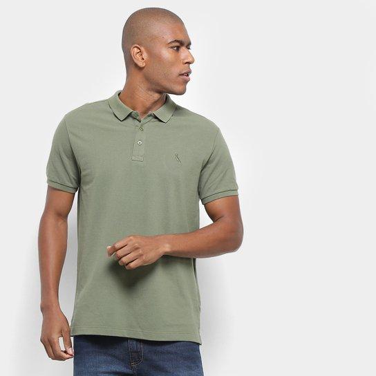 9dd705a79e Camisa Polo Reserva Piquet Básica Masculina - Verde Militar - Compre ...