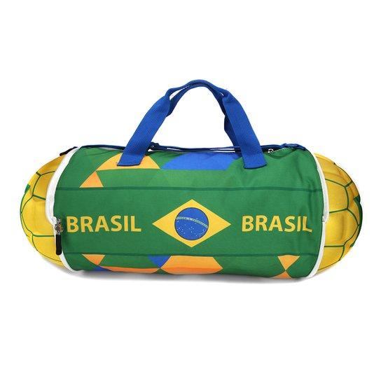 Bolsa Seleção Brasil II Academia - Verde e Amarelo - Compre Agora ... 6239f0c4c6470