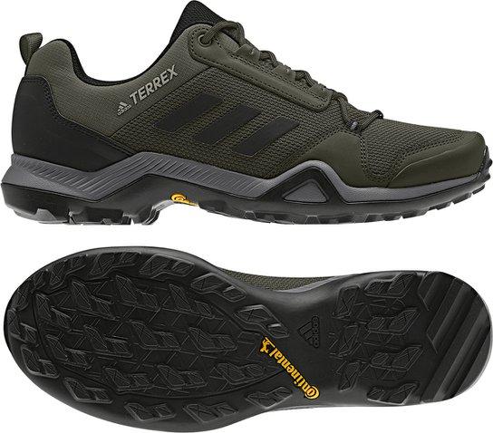 2376f0f098 Tênis Adidas Terrex Ax3 Masculino - Verde Militar - Compre Agora ...