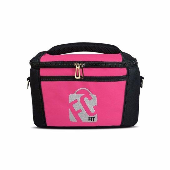 8b38bf9c1 Bolsa Térmica Mini Lunch - Fc Fit Thermal Bags - 2 - Pink+Preto