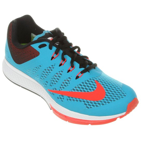 Tênis Nike Zoom Elite 7 - Azul Turquesa+Laranja 79eb6655ce9