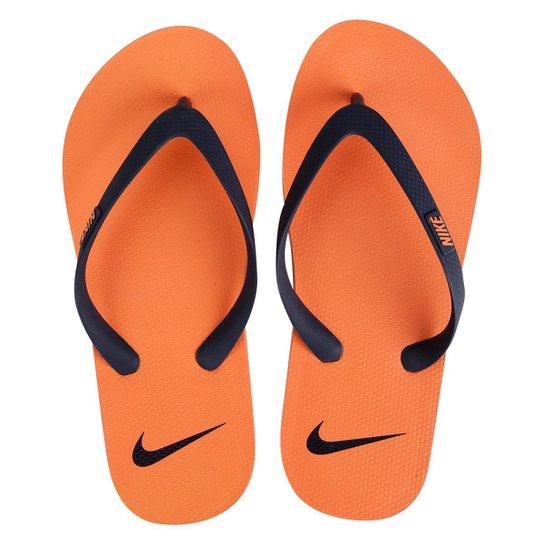 e2e01dc36cf972 Chinelo Nike Aquaswift Thong - Laranja+Preto