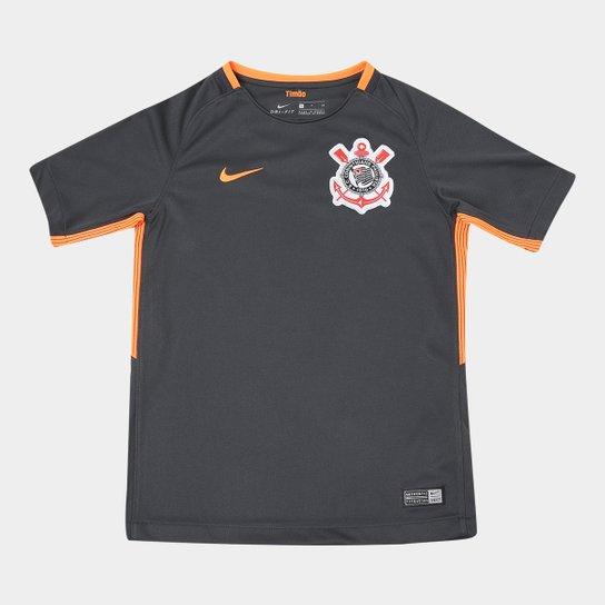 Camisa Corinthians Juvenil III 17 18 s n° - Torcedor Nike - Compre ... 86e2f29b6a5b1