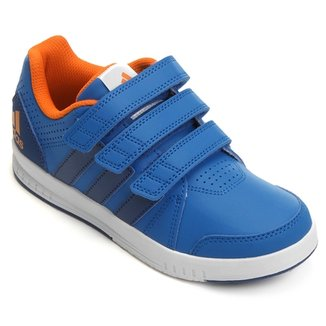 ccc72ea9ddd Tênis Adidas Lk Trainer 7 Cf K Synth Infantil
