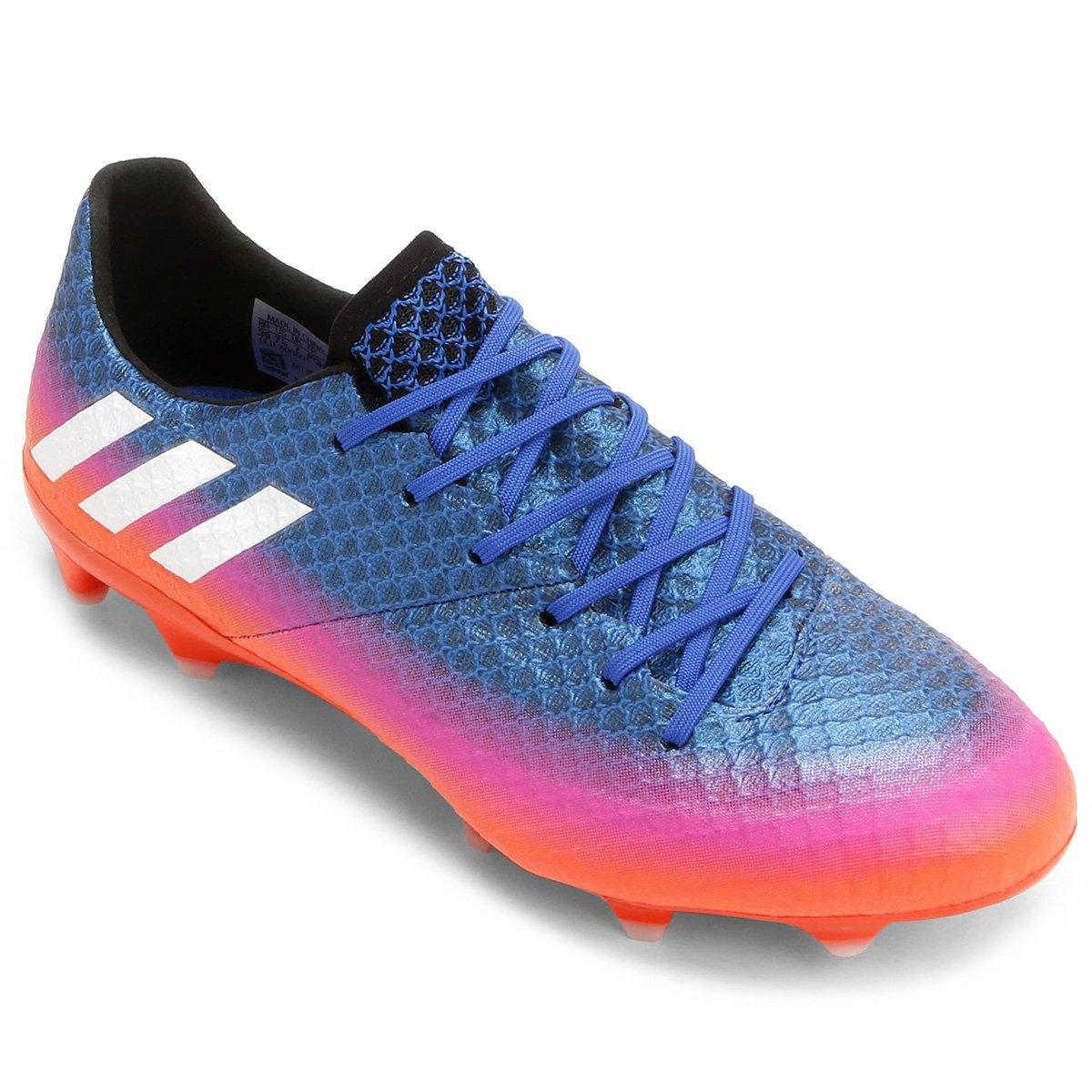 39%OFF Chuteira Campo Adidas Messi 16.1 FG Masculina 631e272626c76