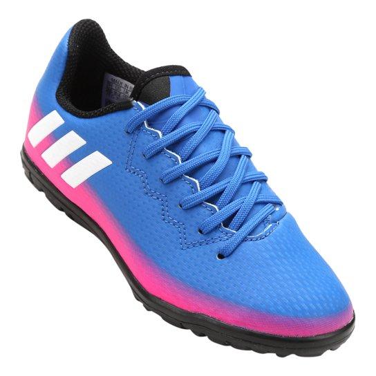 Chuteira Society Adidas Messi 16.3 TF Juvenil - Compre Agora  428560e9e1b72