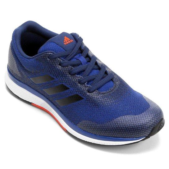 0764a16b79c Tênis Adidas Mana Bounce 2 Masculino - Azul e Laranja - Compre Agora ...