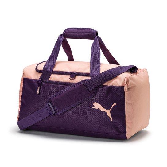 0f764fbbb Mala Puma Fundamentals Sports Bag S - Roxo e Rosa | Netshoes