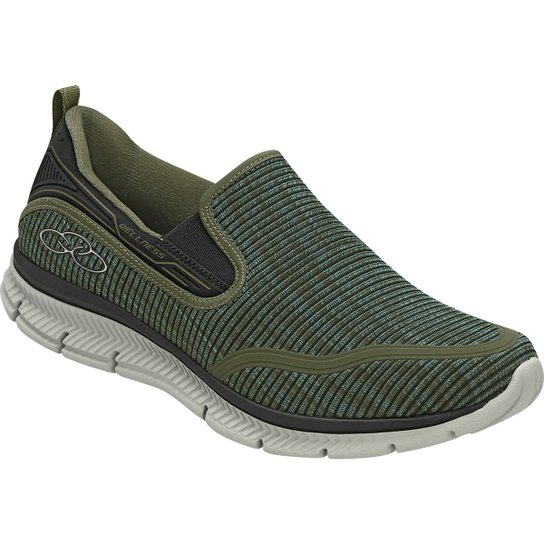 d8a869940c Tênis Olympikus Wellness Masculino - Verde Militar | Netshoes