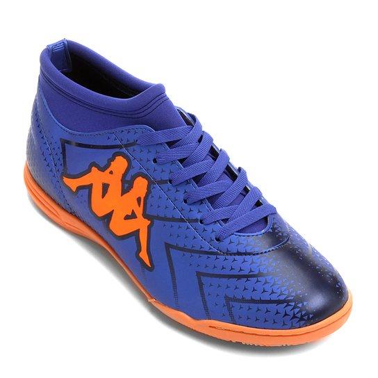 353a55dee Chuteira Futsal Kappa Údine - Azul+Laranja ...