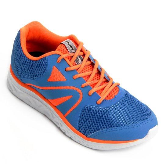 11a27d29594 Tênis Rainha Balance Masculino - Azul e Laranja - Compre Agora ...