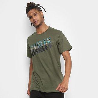 Camiseta Oakley Bark Camo Tee Masculina ec5d5383e7f83