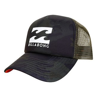 3e2af7014a Bonés Billabong Masculinos - Melhores Preços   Netshoes