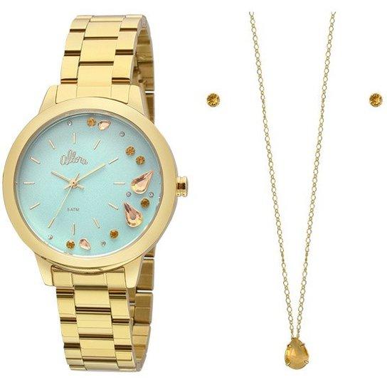 cb32d4579b3 Kit Relógio Allora Feminino AL2036FGP K4V - Compre Agora