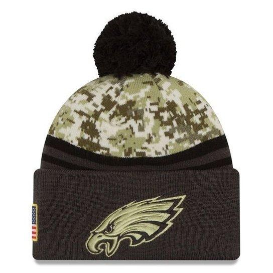 Gorro New Era Philadelphia Eagles Salute To Service STS Militar - Verde  Militar 5967f94b94d