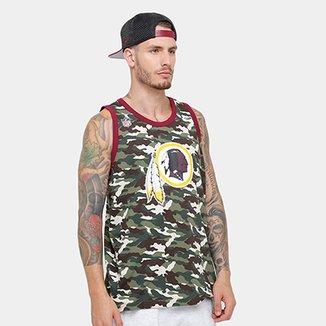 Camiseta Regata NFL Washington Redskins New Era Camu Team Masculina 8491cde28fa