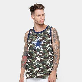 Camiseta Regata New Era NFL Dallas Cowboys Team Masculina 3c4b1248f2f