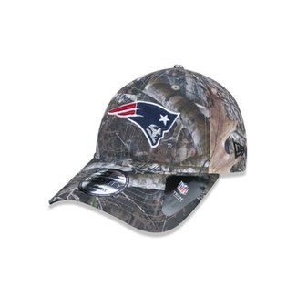 1c8b9eb8ad2c7 Boné 920 New England Patriots NFL Aba Curva Strapback New Era