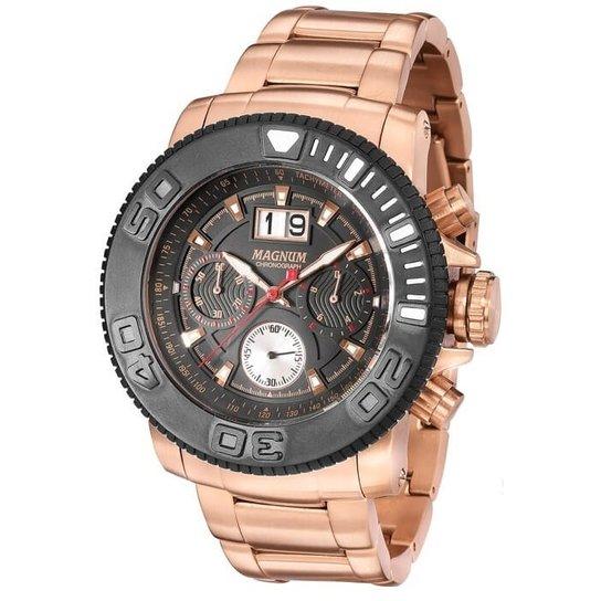 6b9f17fe189 Relógio Magnum Masculino MA33264P - Compre Agora