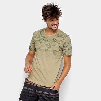 Camiseta Kohmar Camuflada Manga Curta Masculina 56a66116123