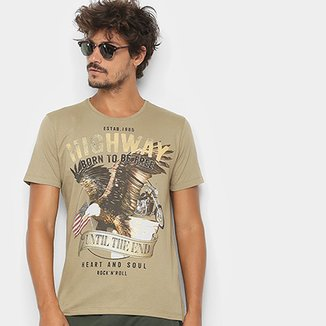 Camiseta Kohmar Born To Be Free Masculina 44f3aecf7d734