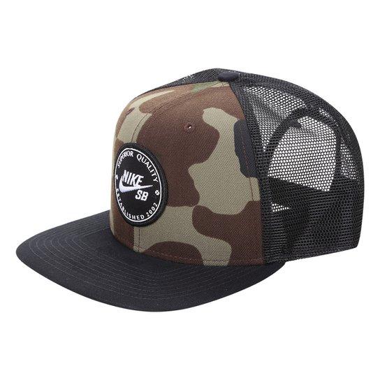 6eb469c019200 Boné Nike Aba Reta U Pro Patch Trucker Masculino - Compre Agora ...