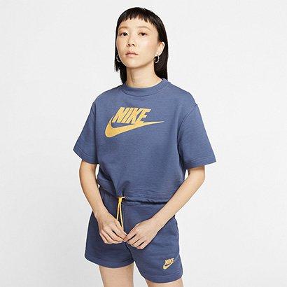 Camiseta Nike Sportwear Icon Clash Top Feminina