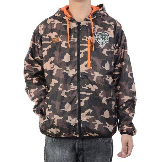 Jaqueta Corta Vento New Era Chicago Bears Masculina - Compre Agora ... d0c31e1af0169