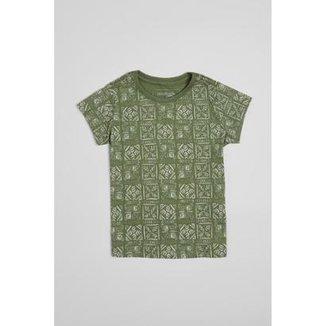 Camiseta Infantil Carimbos Reserva Mini Feminina 84e56e81bce36