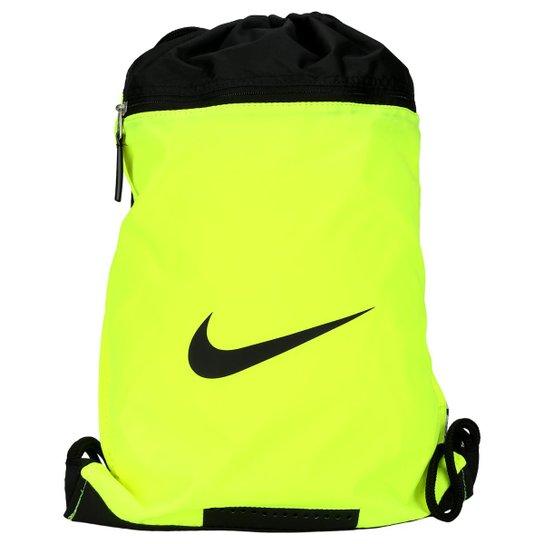 b749ee3b8 Sacola Nike Team Training DS - Verde Limão