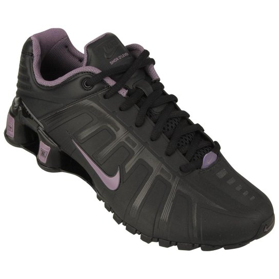 brand new 9d745 1ce8b Tênis Nike Shox O´Leven - Preto+Lilás