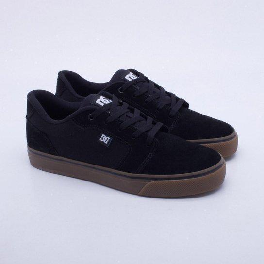Tênis DC Shoes Anvil La Masculino - Preto e Chumbo - Compre Agora ... bd56c0c22d985