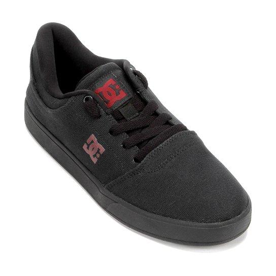 Tênis DC Shoes Crisis Tx La Adys Masculino - Preto e Chumbo - Compre ... 3e9ca3ea40355