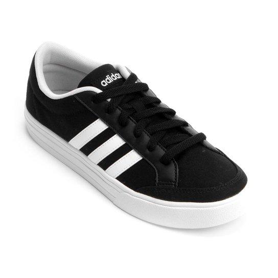 1d630e6dc1 Tênis Adidas Vs Set W Feminino - Preto e Branco - Compre Agora ...