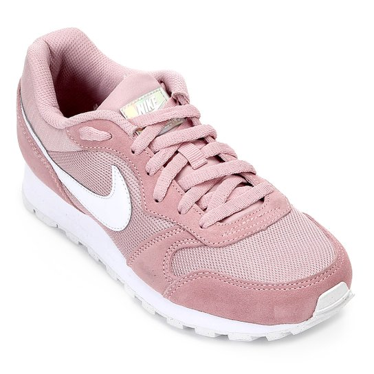 ce6c8d94fc170 Tênis Nike Md Runner 2 Feminino - Rosa e Branco | Netshoes