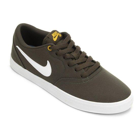 26eaedd359 Tênis Nike Sb Check Solar Cnvs Masculino - Chumbo - Compre Agora ...