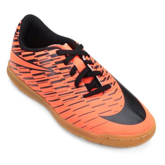 205cf3f856b9e Chuteira Futsal Infantil Nike Bravata 2 IC - Laranja - Compre Agora ...