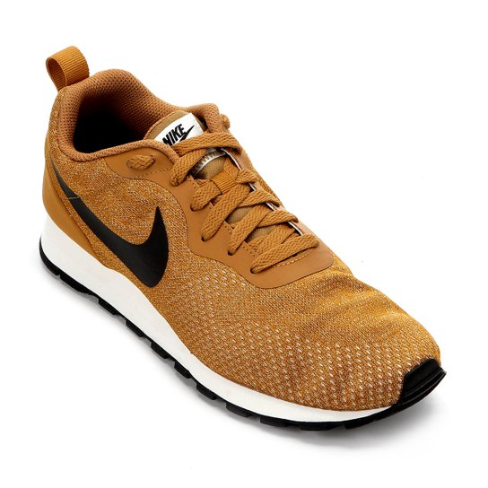 47fe5c03c31e9 Tênis Nike Md Runner 2 Eng Mesh Masculino - Caramelo e Preto ...