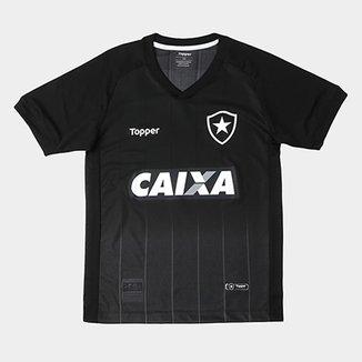 ba808ce067 Camisa Botafogo Infantil II 2018 s n° Torcedor Topper