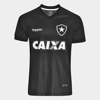 Camisa Botafogo II 2018 s n° Torcedor Topper Masculina a19546318042b